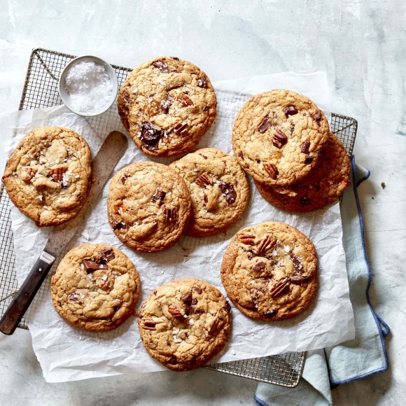 Butter, Caramel and Chocolate Cookies